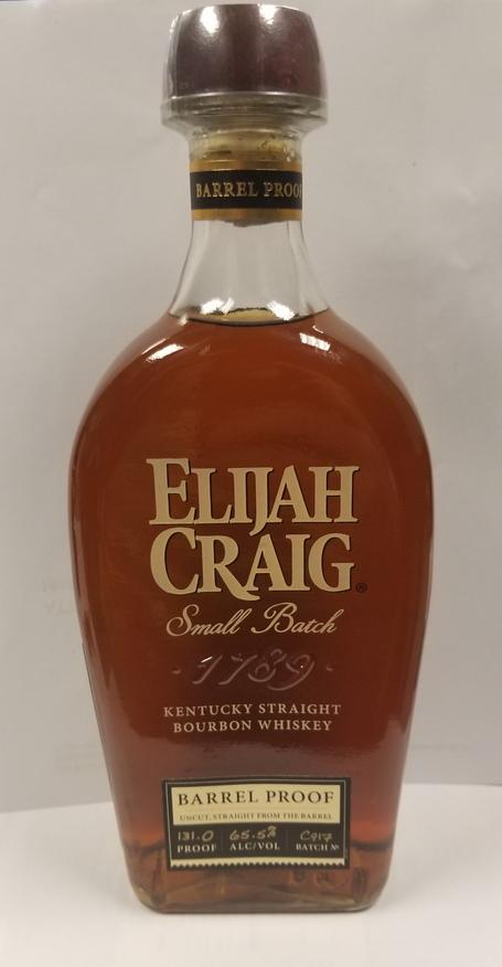 Elijah Craig Small Batch Barrel Proof, C917