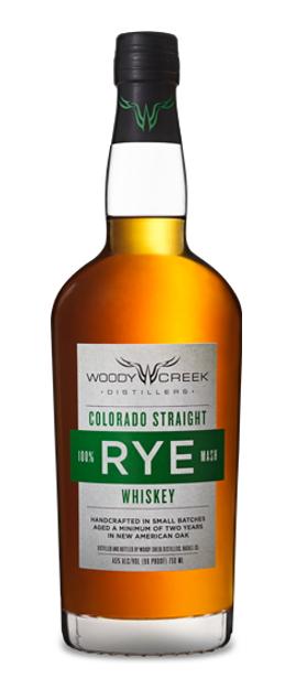 Woody Creek Colorado Straight Rye Whiskey