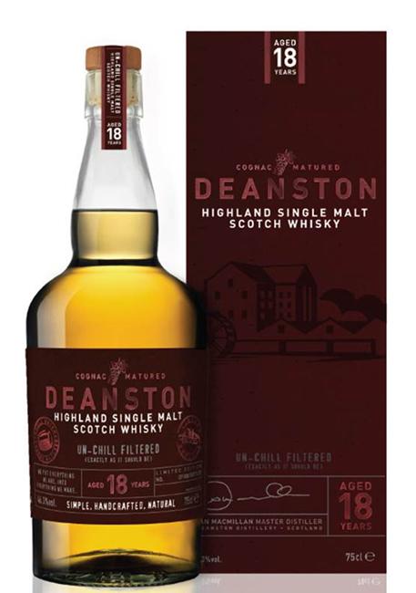 Deanston 18 Year Old Cognac Matured