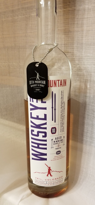 10th Mountain Rye Whiskey