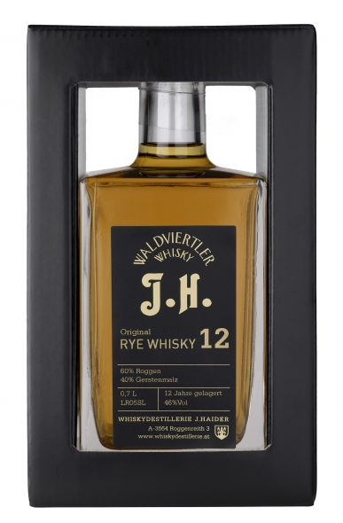 Waldviertler J.H. Original Rye Whisky 12