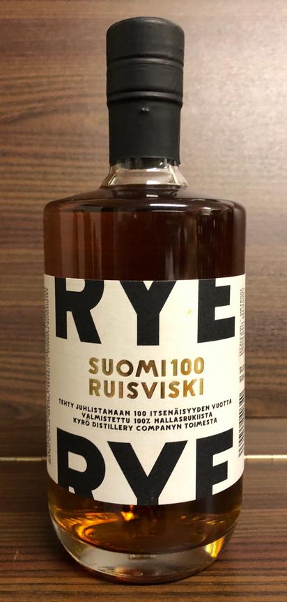 Kyrö Suomi 100 Ruisviski