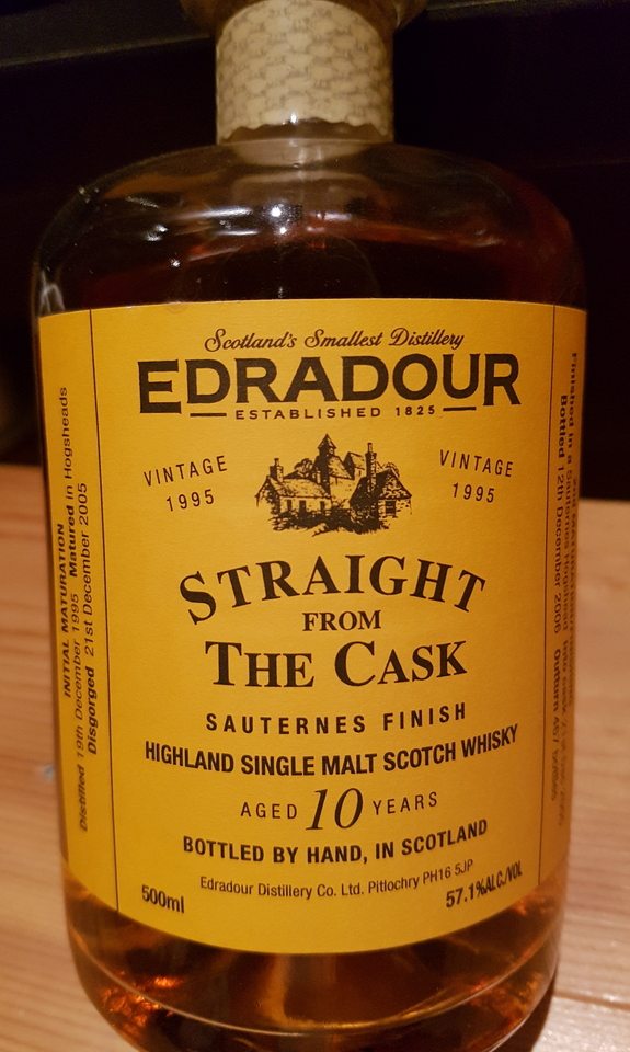 Edradour Straight from the Cask Sauternes (1995)