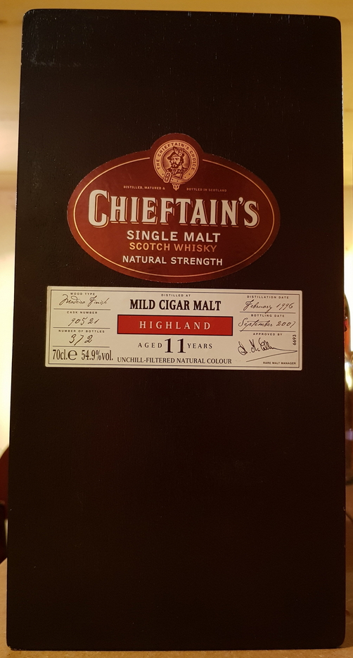 Chieftain's Mild Cigar Malt