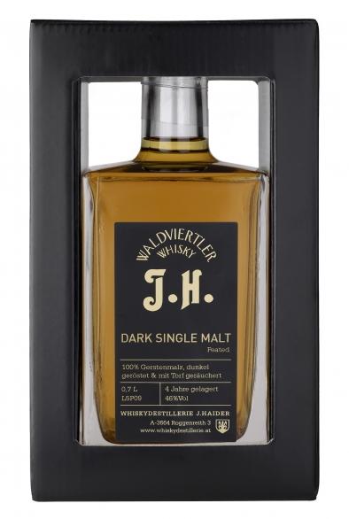 Waldviertler J.H. Dark Single Malt Peated