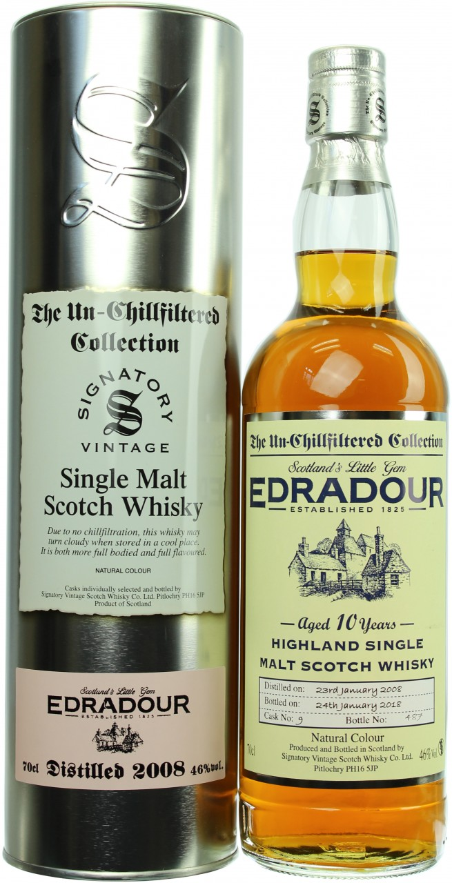 Edradour 2008 (Signatory Un-Chillfiltered)