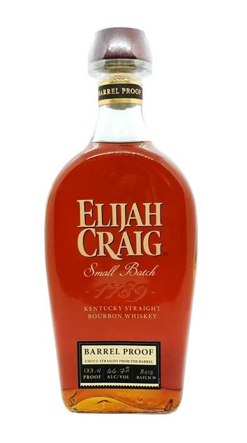 Elijah Craig Small Batch Barrel Proof, B518