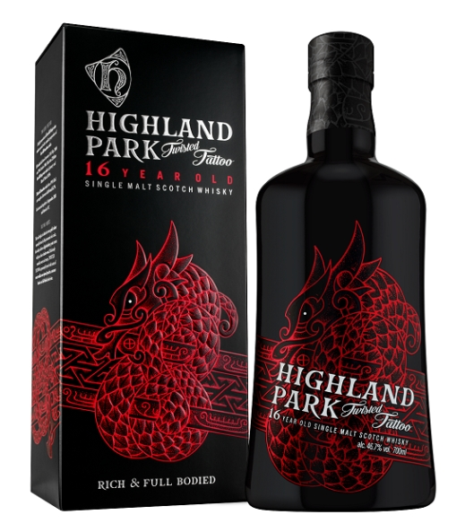 Highland Park 16 Year Old Twisted Tattoo