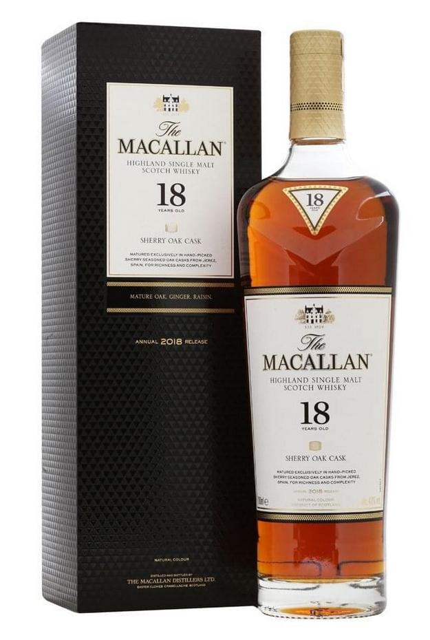 Macallan 18 Year Old 2018 Sherry Oak Cask