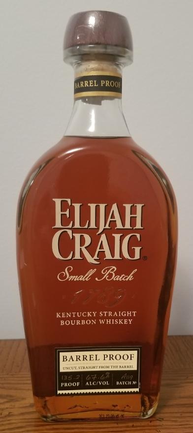 Elijah Craig Small Batch Barrel Proof, A119