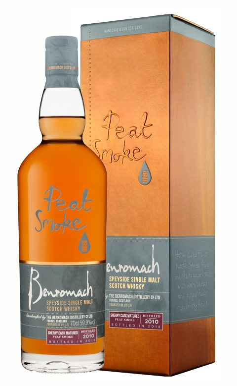 Benromach 2010 Peat Smoke Sherry Cask Matured