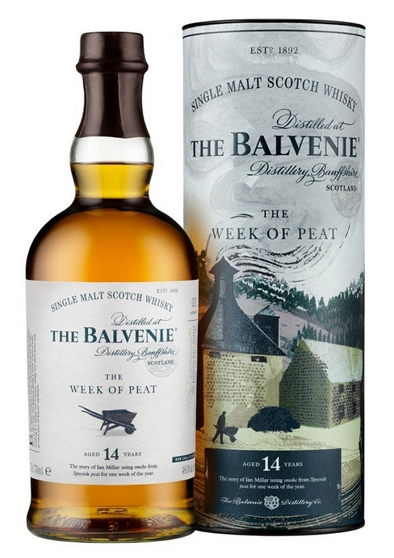 Balvenie 14 Year Old The Week of Peat