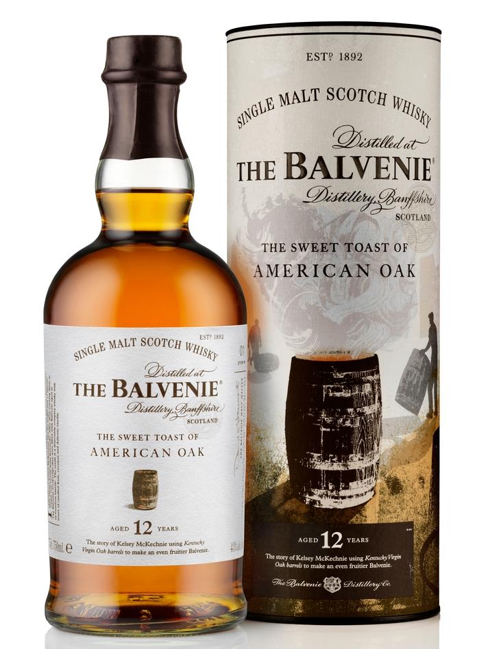 Balvenie 12 Year Old The Sweet Toast of American Oak