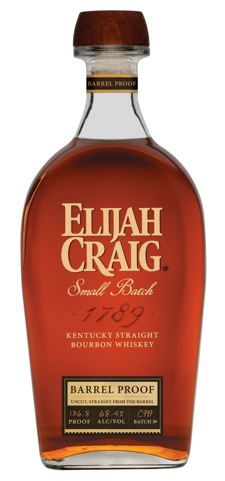 Elijah Craig Small Batch Barrel Proof, C919