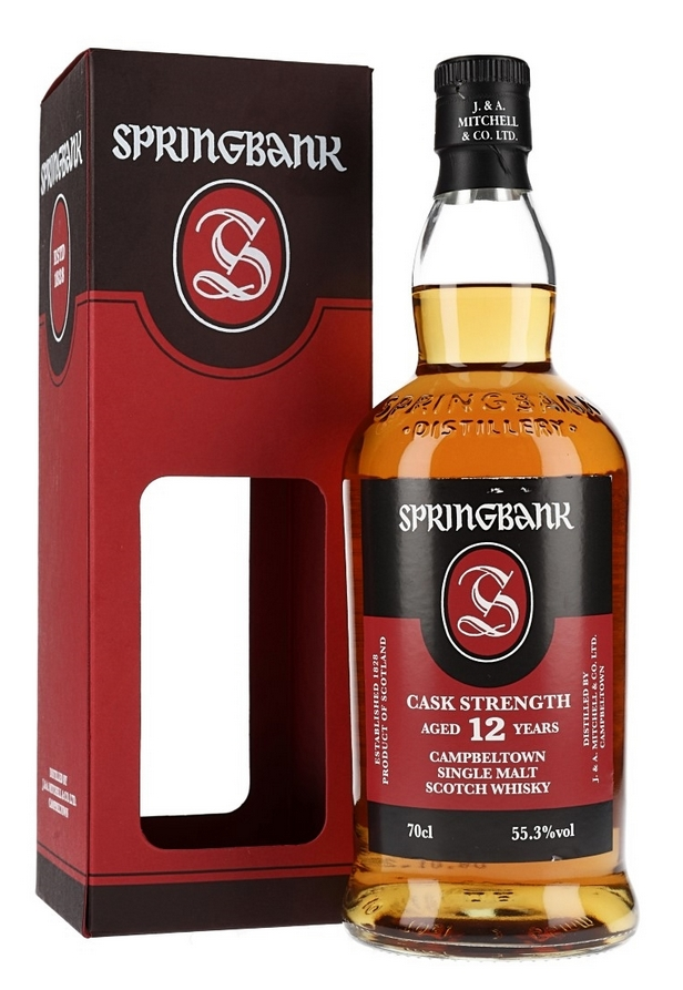 Springbank 12 Year Old Cask Strength, Batch 20