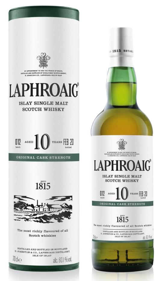 Laphroaig Original Cask Strength, Batch #012