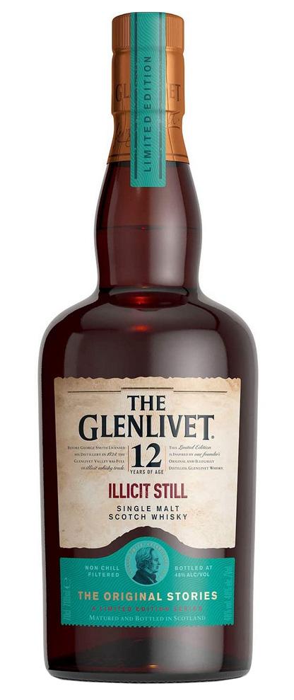 Glenlivet 12 Year Old Illicit Still